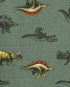 4-Piece Dinosaur 100% Snug Fit Cotton PJs, , hi-res