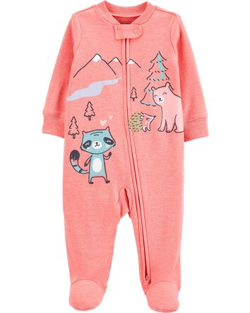 Woodland Creatures 2-Way Sleep & Pl...