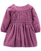 Woven Dobby Dress, , hi-res