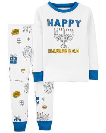 Pyjama 2 pièces en coton ajusté Han...