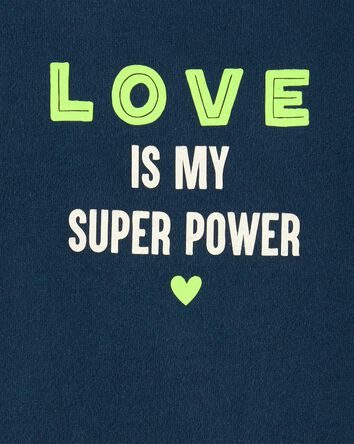 Cache-couche Love Is My Super Power...