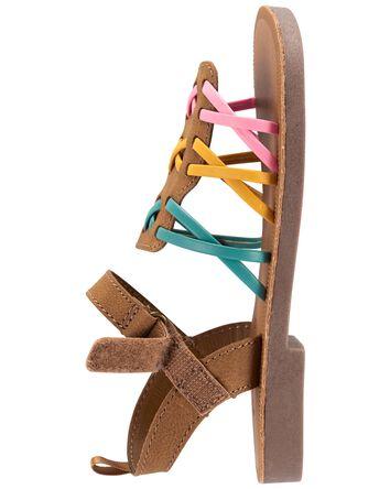 Rainbow Strappy Sandals