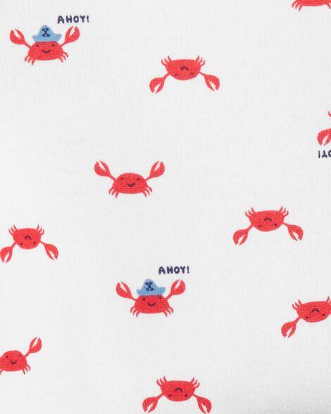Ensemble Little Character 3 pièces à crabe