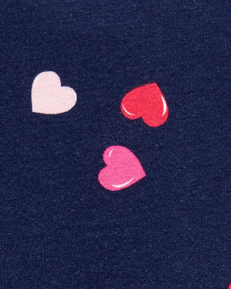 Robe en jersey avec cœurs, , hi-res