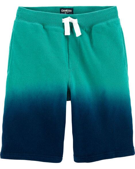 Dip-Dye Pull-On Shorts