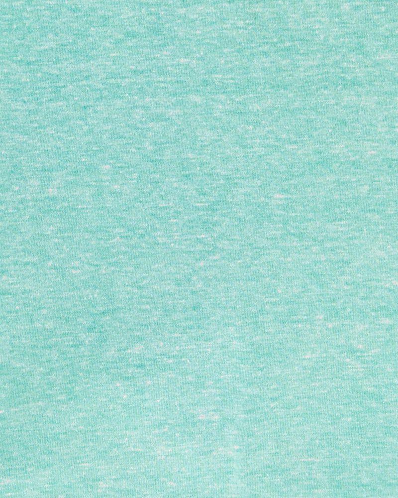 Ensemble 2 pièces haut henley en jersey chiné à dinosaure et short en toile, , hi-res