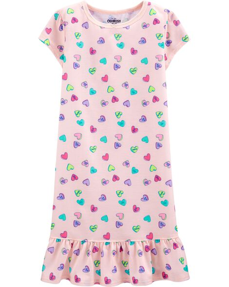 Candy Heart Nightgown