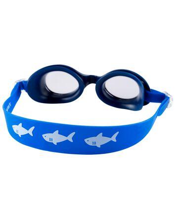 Lunettes de natation à requin