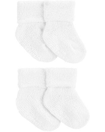 4 paires de chaussettes en chenille