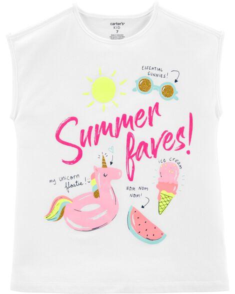 T-shirt en jersey Préférés de l'été