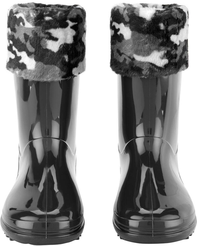 Bottes de pluie camouflage, , hi-res