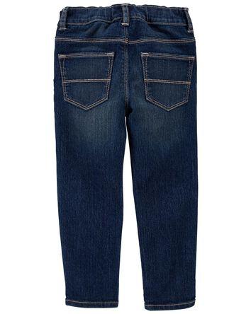 Jeans de coupe fuseau à délavage Ri...