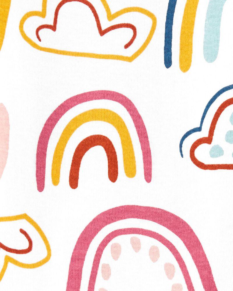 Rainbow Long-Sleeve Bodysuit, , hi-res