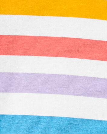 1-Piece Striped Snug Fit Cotton Foo...