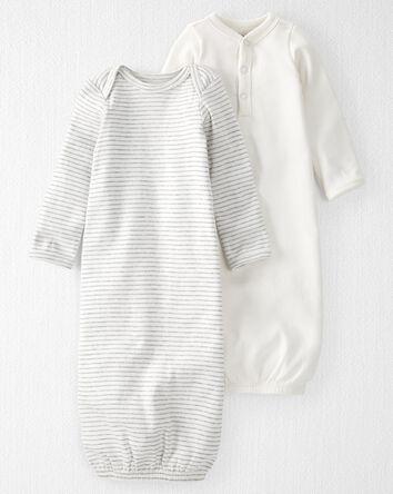 2-Pack Organic Cotton Rib Sleeper G...