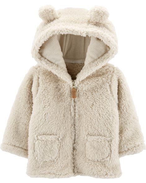 Sherpa Zip-Up Cardigan