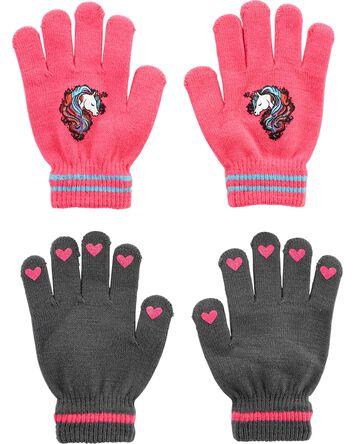 Kombi 2-Pack Unicorn Gripper Gloves