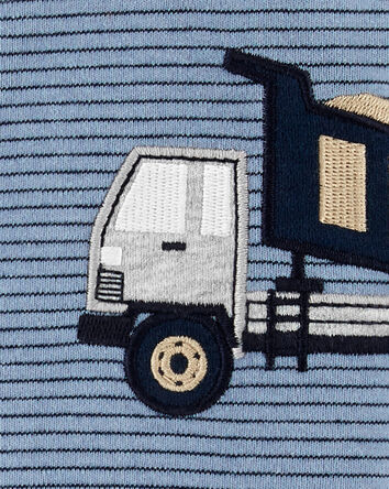 Construction Truck Snap-Up Cotton S...