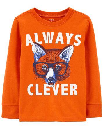 T-shirt en jersey à renard Always C...