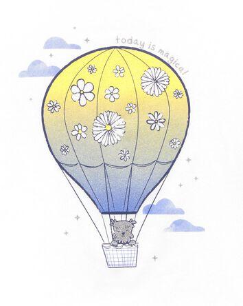 Hot Air Balloon Jersey Tee