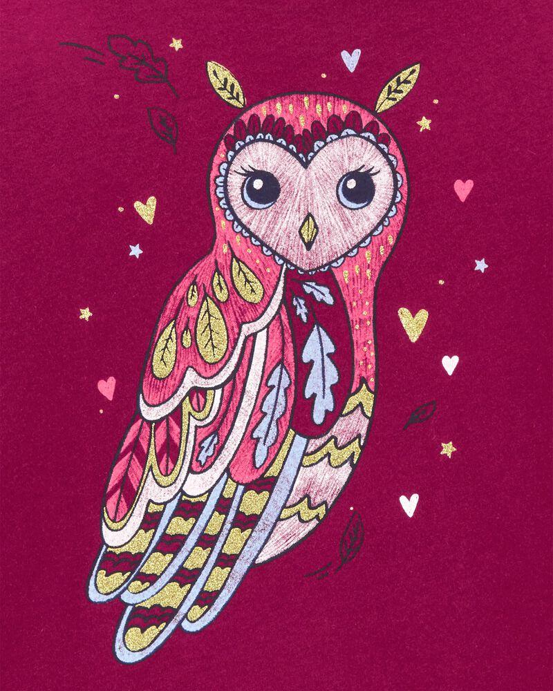 Owl Jersey Top, , hi-res