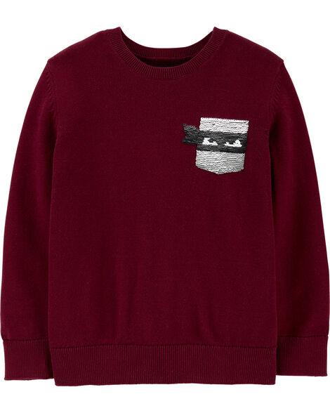 Flip Sequin Ninja Sweater