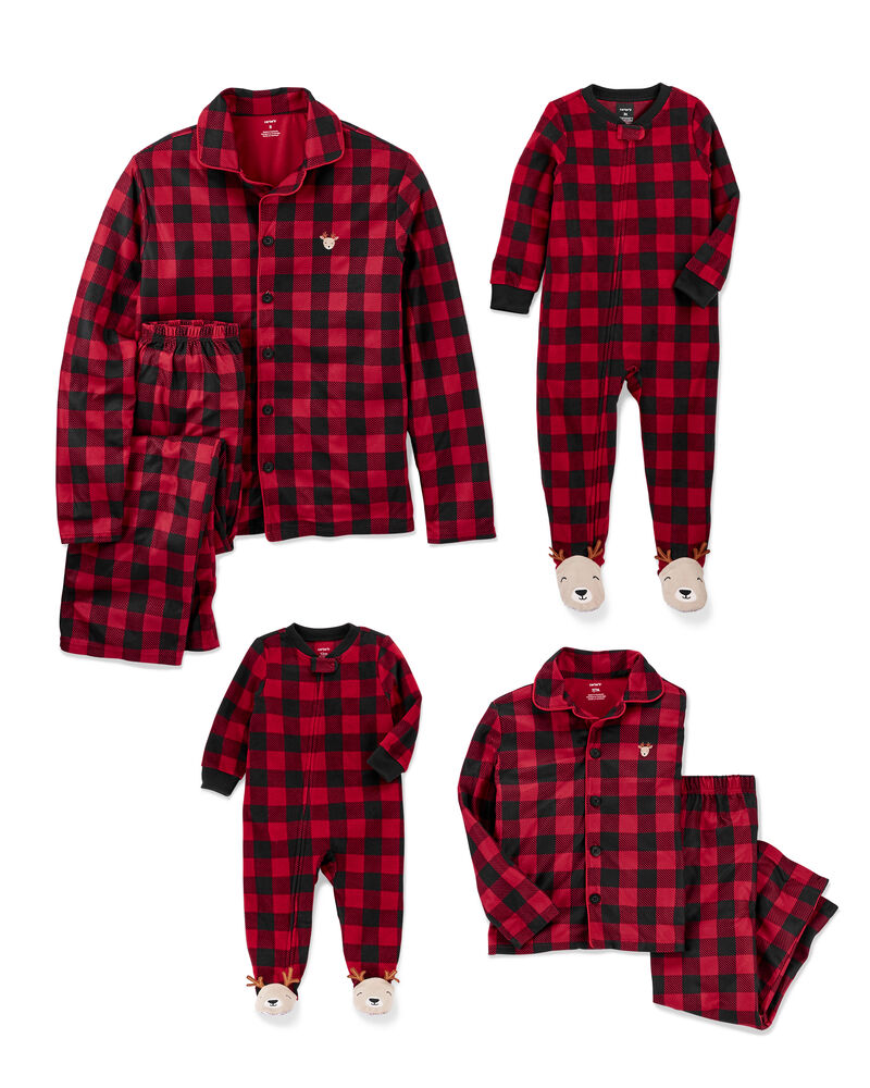 Pyjamas des Fêtes à motif écossais pour toute la Famille, , hi-res