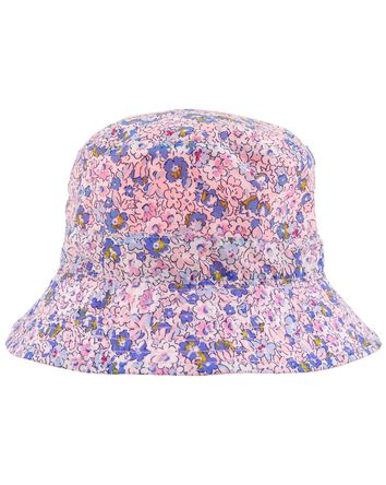Reversible Floral Bucket Hat