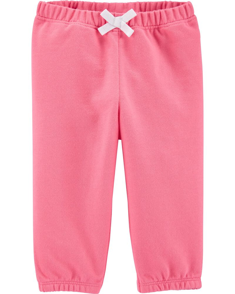 Pull-On French Terry Pants, , hi-res