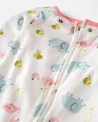 Organic Cotton 1-Piece PJs, , hi-res