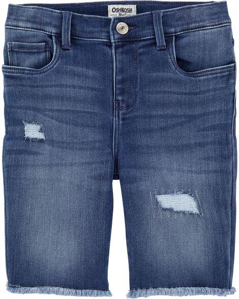 Distressed Skimmer Shorts