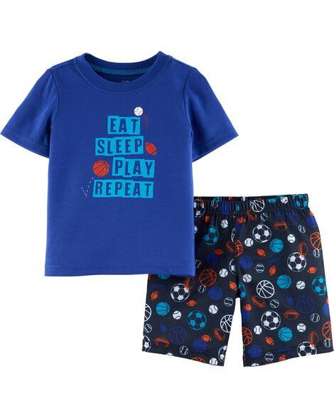 Pyjama 2 pièces de sport