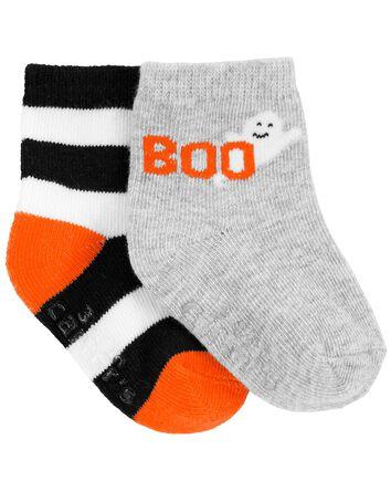 3-Pack Halloween Booties