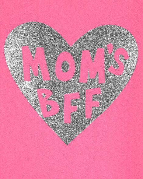 Mom's BFF Heart Tee