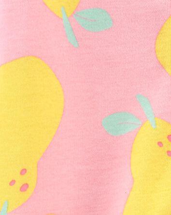 Pear 2-Way Zip Cotton Sleep & Play