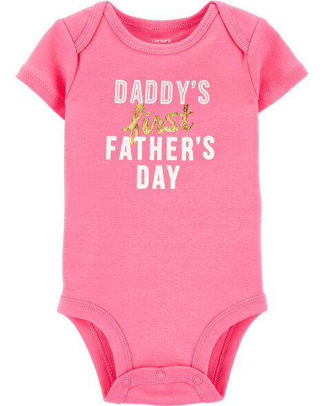 First Father's Day Collectible Bodysuit