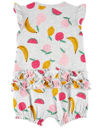 Fruit Snap-Up Romper