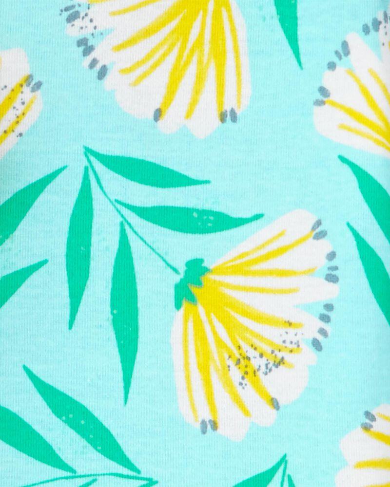 4-Piece Floral 100% Snug Fit Cotton PJs, , hi-res