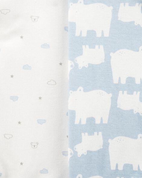 6-Pack Polar Bear Original Bodysuits