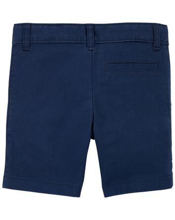 Flat-Front Shorts