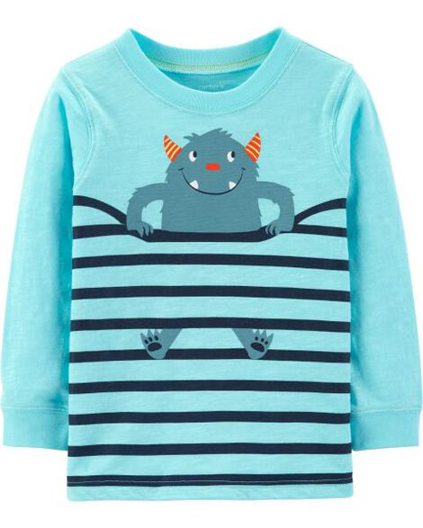 Monster Striped Jersey Tee