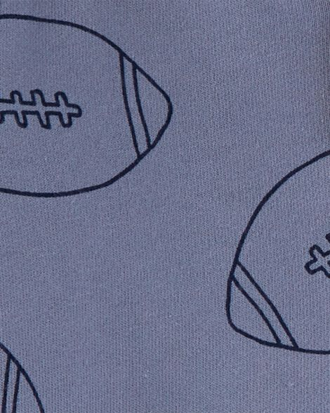 Ensemble 3 pièces haut à capuchon football