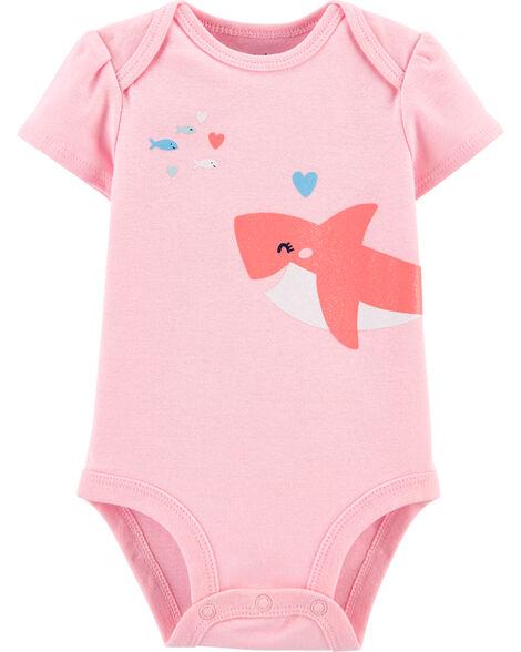 Glitter Shark Original Bodysuit