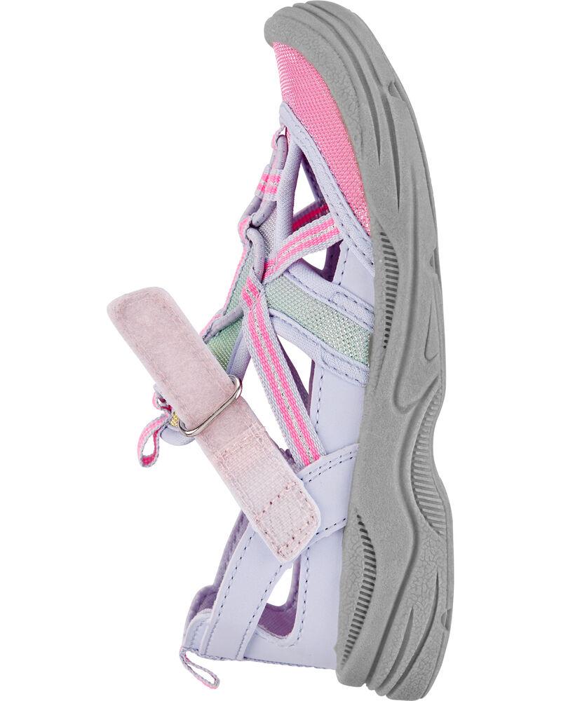 Sandales à bout muflé Oshkosh arc-en-ciel, , hi-res