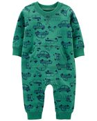 Car French Terry Jumpsuit, , hi-res