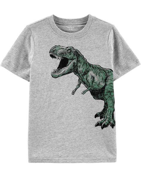 T-shirt à imprimé dinosaure
