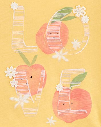 Peachy Love Tee