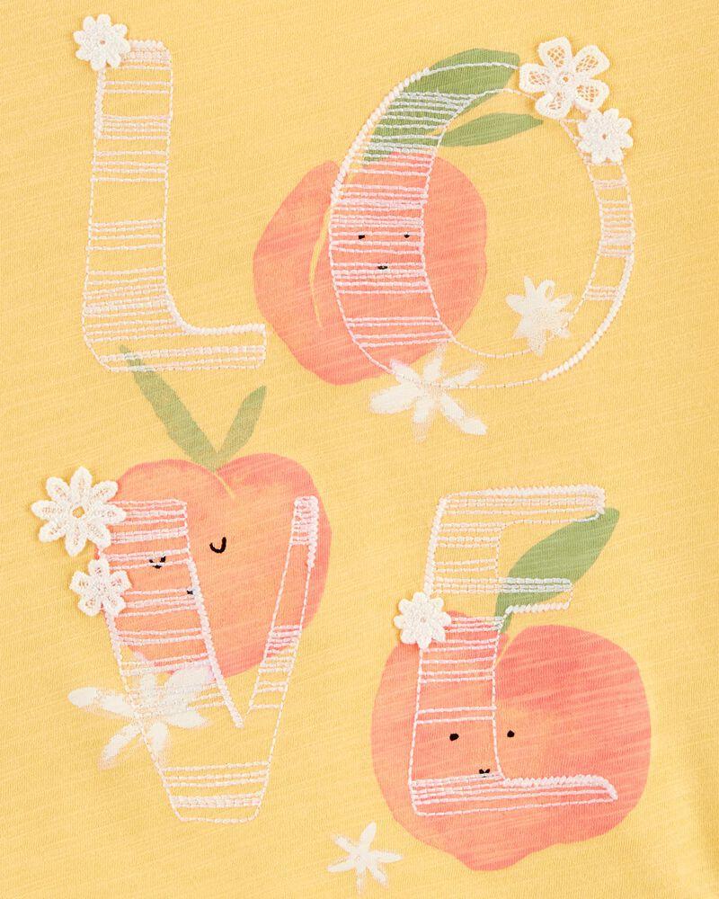 Peachy Love Tee, , hi-res