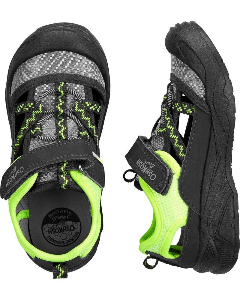 Bump Toe Athletic Sandals, , hi-res