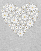 Daisy Heart Top, , hi-res